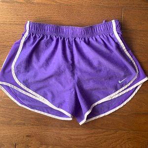 Nike | Purple Dri-Fit Drawstring Running Shorts M